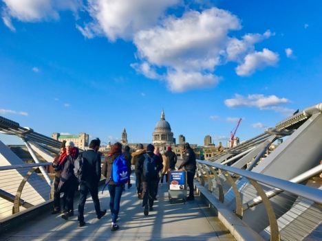 11.Millennium bridge