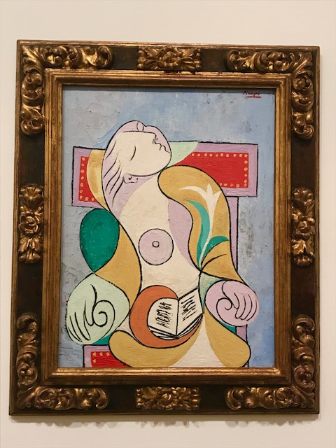 4.Picasso Reading