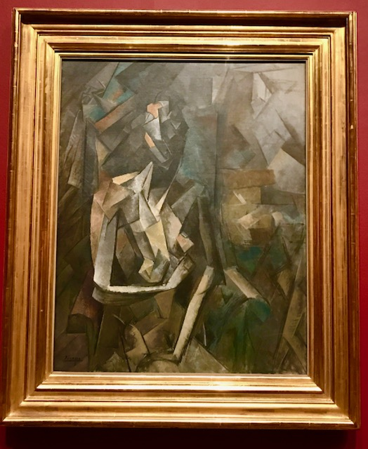 7.Picasso Seated Nude