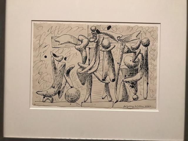9.Picasso pen Sketche